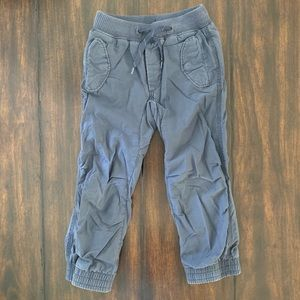 Baby Gap Kids navy lined joggers